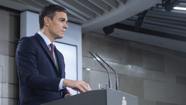 """Sánchez presenta su Gobierno """"plural"""" y en el que habrá """"varias voces, pero una misma palabra"""""""