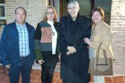 La alcaldesa de Almonacid de Toledo asiste a la inauguración, por D. Braulio Rodríguez, de la Casa de Santa Teresa