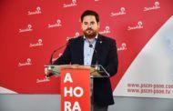 """Camacho: """"Esperamos que el PP participe en la Comisión contra la despoblación, de forma más constructiva que en la Mesa Regional del Agua"""""""