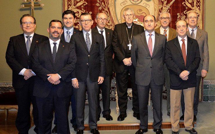 El Capítulo de Caballeros del Santo Sepulcro rinde homenaje al arzobispo D. Braulio Rodríguez Plaza