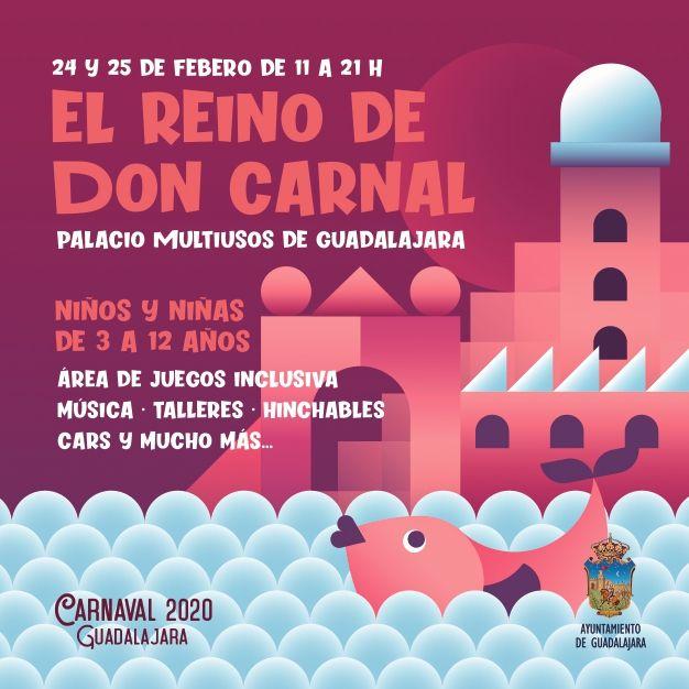El Reino de Don Carnal abrirá sus puertas en próximo lunes en el Palacio Multiusos