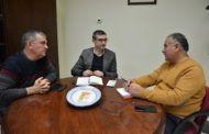 Fernando Muñoz ofrece el apoyo de la Diputación a los proyectos del Gobierno Municipal de Ciruelos
