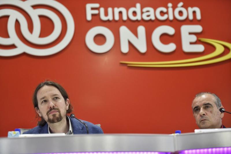 """El vicepresidente Iglesias pide """"que la gente se organice"""" contra la ultraderecha"""