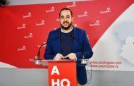 """González: """"El PSOE sale al frente del problema del IVA que aplaudieron Cañizares y Núñez"""""""