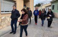 El alcalde visita Tiradores Altos para determinar las actuaciones que se harán con cargo al POS