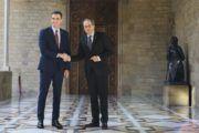 """Sánchez propone la mesa de diálogo para el próximo lunes y Torra le reprocha que fije la fecha """"unilateralmente"""""""