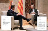 La mesa de diálogo de Sánchez y Torra se constituirá el próximo miércoles en Moncloa