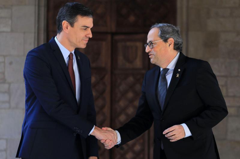 """Torra asegura que la mesa de diálogo debe abordar la """"soberanía de los catalanes"""" y no cuestiones"""