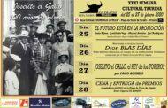 Un año más la Peña El Trapío organiza su Semana Cultural, cuyos actos se desarrollarán entre los días 25 y 28 de febrero en el Aula Cultural 'Domingo Ortega' de la Plaza de Toros de Toledo