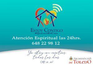 La Archidiócesis de Toledo lanza el proyecto 'Estoy Contigo' para ofrecer acompañamiento espiritual