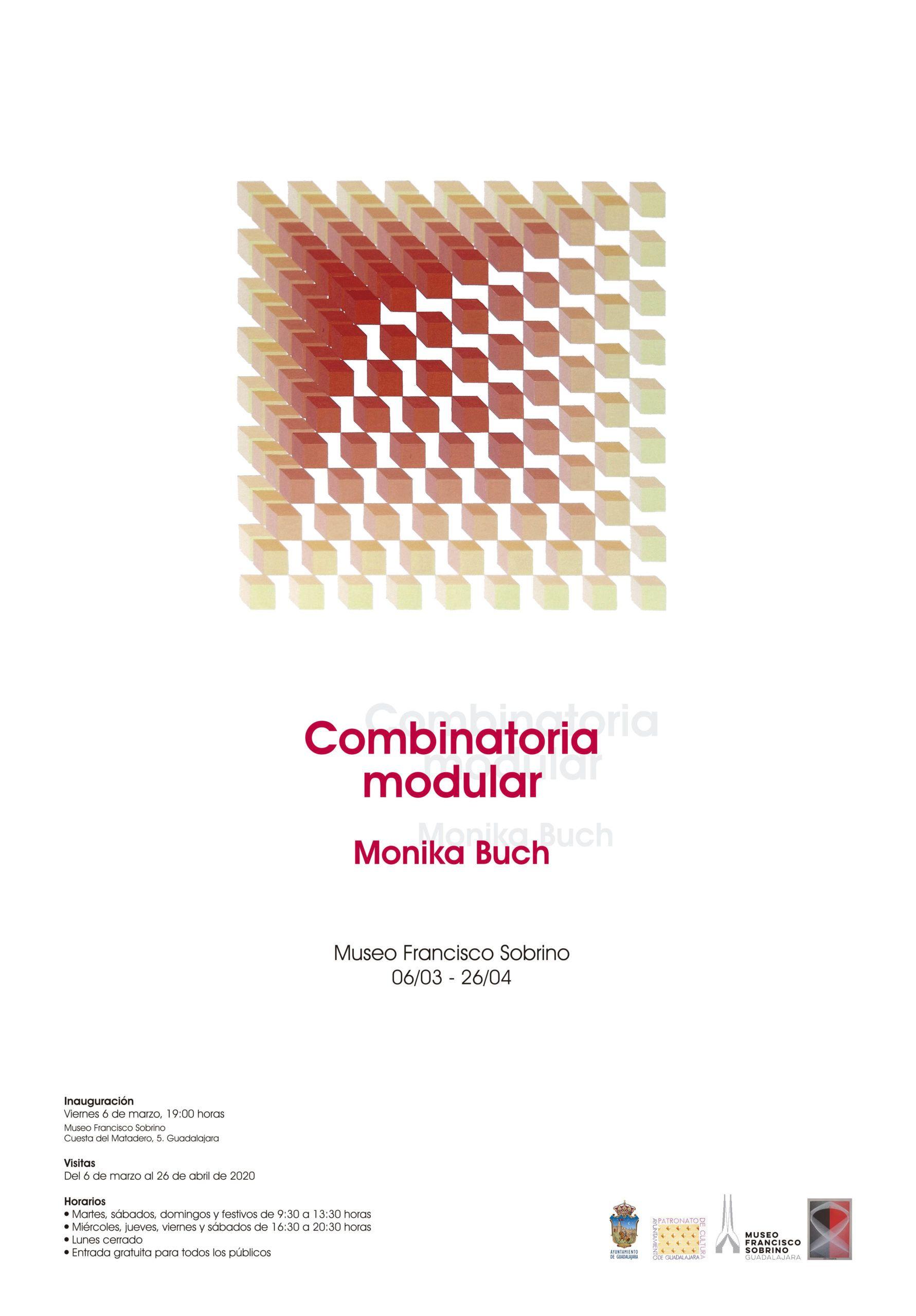 Este viernes se inaugura la exposición Combinatoria Modular Monika Buch