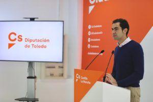 Cs Toledo ofrece su apoyo a Gutiérrez para modificar los presupuestos de la Diputación ante la emergencia sanitaria por el coronavirus