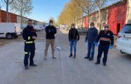 Palomarejos Golf se suma con un equipo propio al operativo de desinfección del Ayuntamiento de Talavera