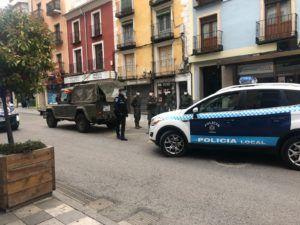 Policía Local ha efectuado una detención, 17 denuncias y 107 identificaciones desde que se iniciase el estado de alarma