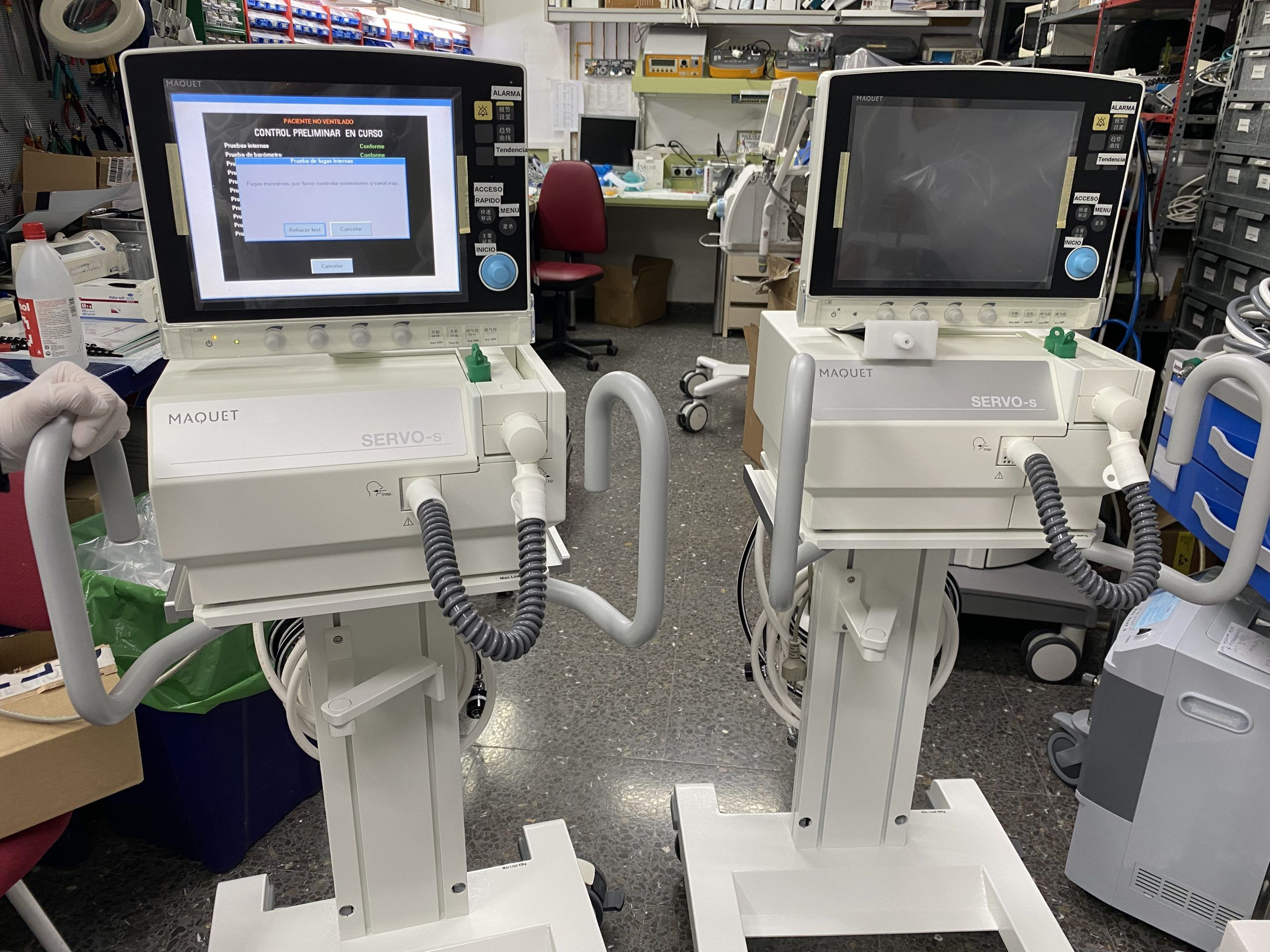 Más de 60 pacientes afectados por Covid-19 han sido ya extubados en los hospitales de Castilla-La Mancha
