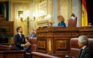 """Casado recrimina a Sánchez su """"nula autoridad moral"""" para demandar """"lealtad y unidad"""""""