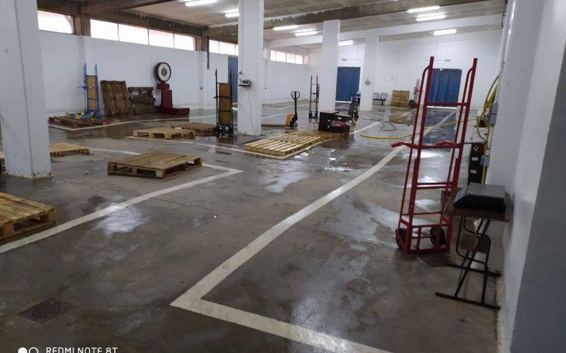 Se intensifica la labor de desinfección en MercaTalavera para garantizar con seguridad su pleno rendimiento como mercado mayorista de distribución de alimentos frescos