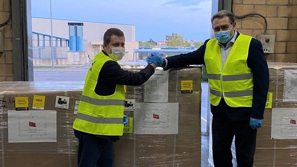 Los diputados regionales del PSOE por Albacete advierten que lo único importante de los respiradores procedentes de Turquía