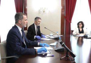 """El Rey felicita a las Fuerzas y Cuerpos de Seguridad del Estado por su labor """"ejemplar"""" en la crisis sanitaria del coronavirus"""