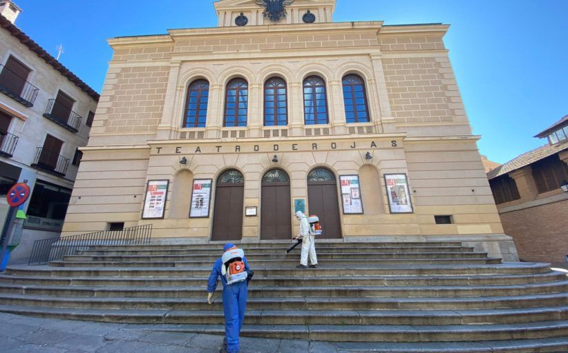 El Ayuntamiento de Toledo incorpora nuevos medios mecánicos al servicio de limpieza y desinfección de espacios públicos frente al Covid-19