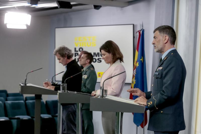 España registra 367 muertes diarias por Covid-19, la cifra más baja en 34 días