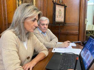 El ayuntamiento de Toledo destaca en la Junta de Seguridad la entrega de material de protección que coordina la Delegación del Gobierno