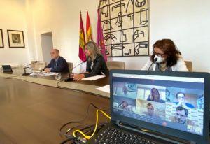 La alcaldesa avanza con los agentes sociales en el proceso de Recuperación Económica y Social por la crisis del Covid-19