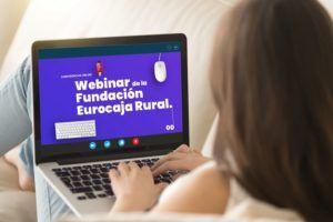 Más de un millar de personas han participado en las sesiones formativas online de la Fundación Eurocaja Rural