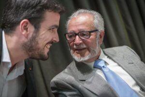 """Alberto Garzón lamenta la muerte de Julio Anguita: """"Hemos perdido al más grande"""""""