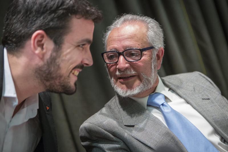 Alberto Garzón lamenta la muerte de Julio Anguita: