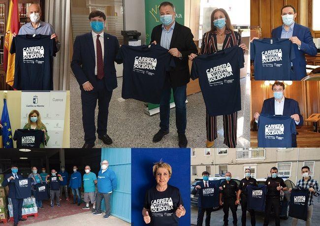 Apoyo institucional rotundo en Cuenca y Ávila a la Carrera Solidaria de la Fundación Eurocaja Rural