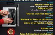 El Centro Joven de Cuenca continúa con su programación virtual con talleres de música, baile y jardinería