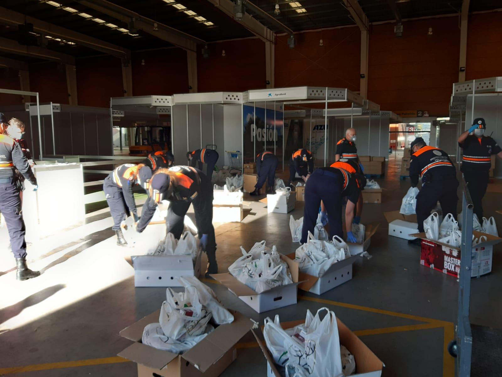 Cárnicas Dibe aporta más de 1.300 lotes de carne especial para niños al recurso extraordinario de alimentos que está gestionando el Ayuntamiento de Talavera