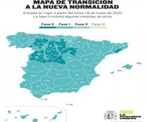 La Comunidad de Madrid, Barcelona y parte de Castilla y León continúan en fase 0