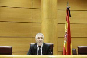 """Marlaska: """"Ni yo ni nadie del Ministerio ni de la Dirección de la Guardia Civil pidió a Pérez de los Cobos el informe del 8-M"""""""