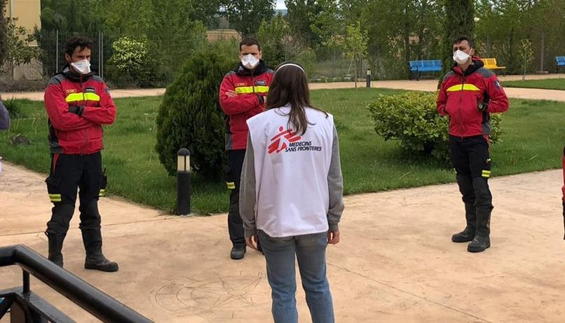 Médicos Sin Fronteras y la Diputación de Cuenca ayudarán a las residencias en la preparación de la desescalada