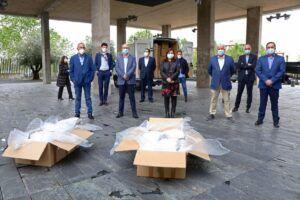 El Gobierno regional agradece a RECAMDER su implicación en la lucha contra la COVID19 contribuyendo con 125.000 mascarillas donadas al SESCAM