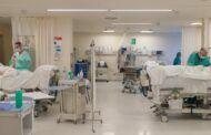 Desciende el número de pacientes hospitalizados en cama convencional y se mantiene el de ingresados en cuidados intensivos por infección de COVID-19