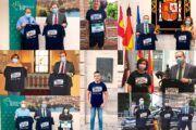 Las instituciones valencianas y ciudadrealeñas se visten de solidaridad apoyando la Carrera Virtual de la Fundación Eurocaja Rural