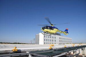 Castilla-La Mancha cuenta con la red de helipuertos de emergencias sanitarias más amplia de toda Europa