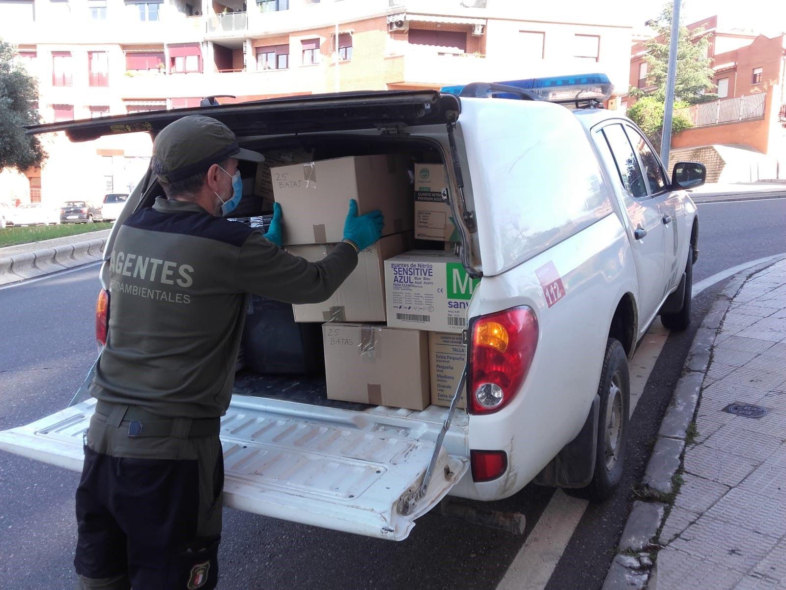 Los agentes medioambientales de la provincia de Toledo han realizado 1.338 actuaciones de apoyo en materia sanitaria en la provincia durante el mes de junio