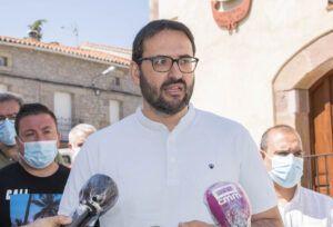 """Sergio Gutiérrez: """"Lo que vamos a hacer desde el Gobierno es blindar por Ley los servicios del medio rural contra los recortes del PP"""""""