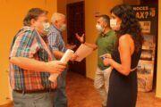 Subdelegación del Gobierno y Ayuntamiento de Barrax aúnan esfuerzos en las medidas de protección sanitaria frente al Covid-19