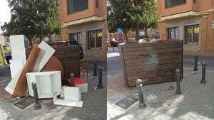 De la Llave ofrece los canales habituales de recogida de residuos para contribuir a la buena imagen de ciudad y recuerda que se investigarán ciertos focos de deshechos