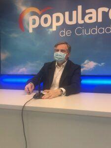 """Cañizares : """" El problema para Page es Castilla-La Mancha porque no quiere escuchar a la sociedad que le está diciendo que las cosas no se han hecho bien en nuestra tierra"""""""