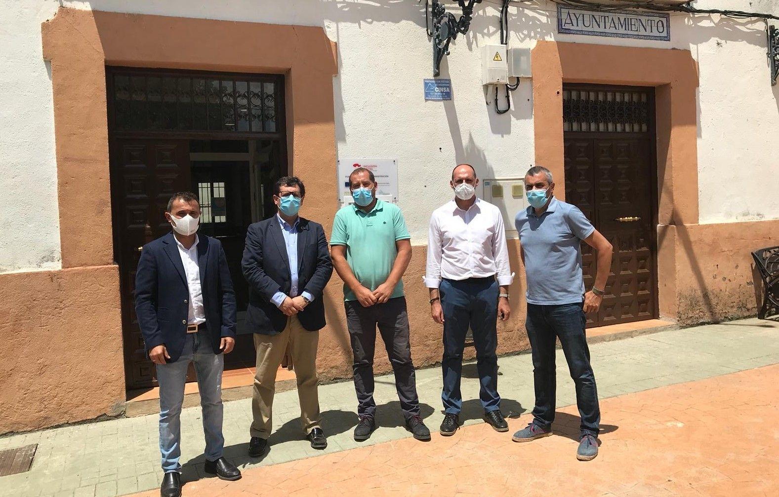 El Gobierno regional ofrece su colaboración al Ayuntamiento de Cardiel de los Montes para realizar un Plan de Ordenación Municipal (POM) acorde a las necesidades del municipio