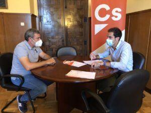 Cs Toledo se reúne con la Federación de Tiro de CLM para apoyar una solución consensuada en las instalaciones de la Diputación en La Bastida