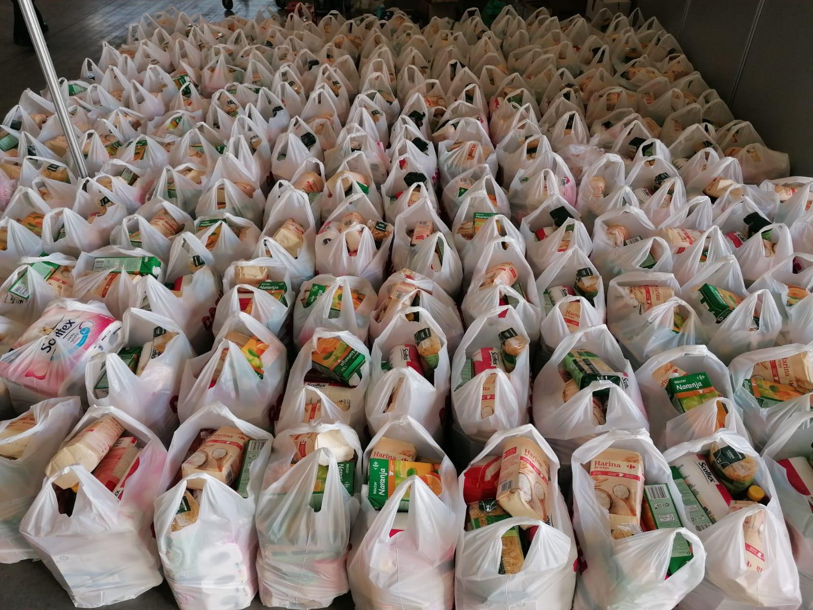 El Ayuntamiento de Talavera de la Reina adquiere otros 7.500 kilos de alimentos para el recurso extraordinario mientras se sigue recuperando la normalidad