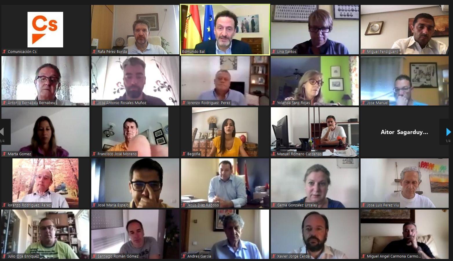 Casañ, Masías y Pérez Borda participan en el encuentro de alcaldes y tenientes de alcalde organizado por Ciudadanos