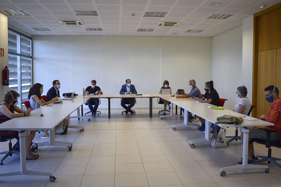 El Ayuntamiento se reúne con la Plataforma por el Cambio Climático y toma nota de sus propuestas por una ciudad más sostenible
